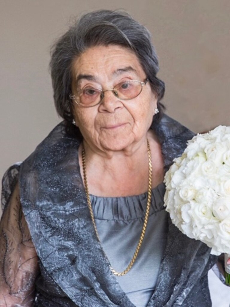 Crystalla Constanti died aged 97 on April 9, three weeks after Opal Care Bankstown was locked down. Picture: Supplied