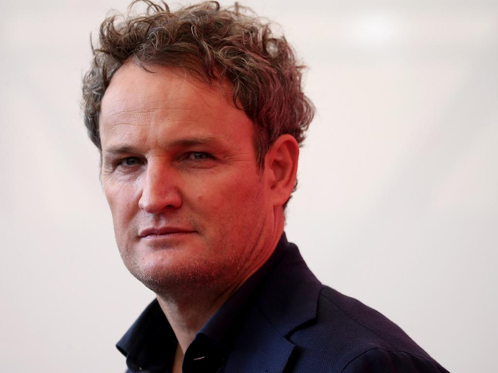 Jason Clarke was first cast as a detective in Australian classic Rabbit-Proof Fence. Picture: Franco Origlia