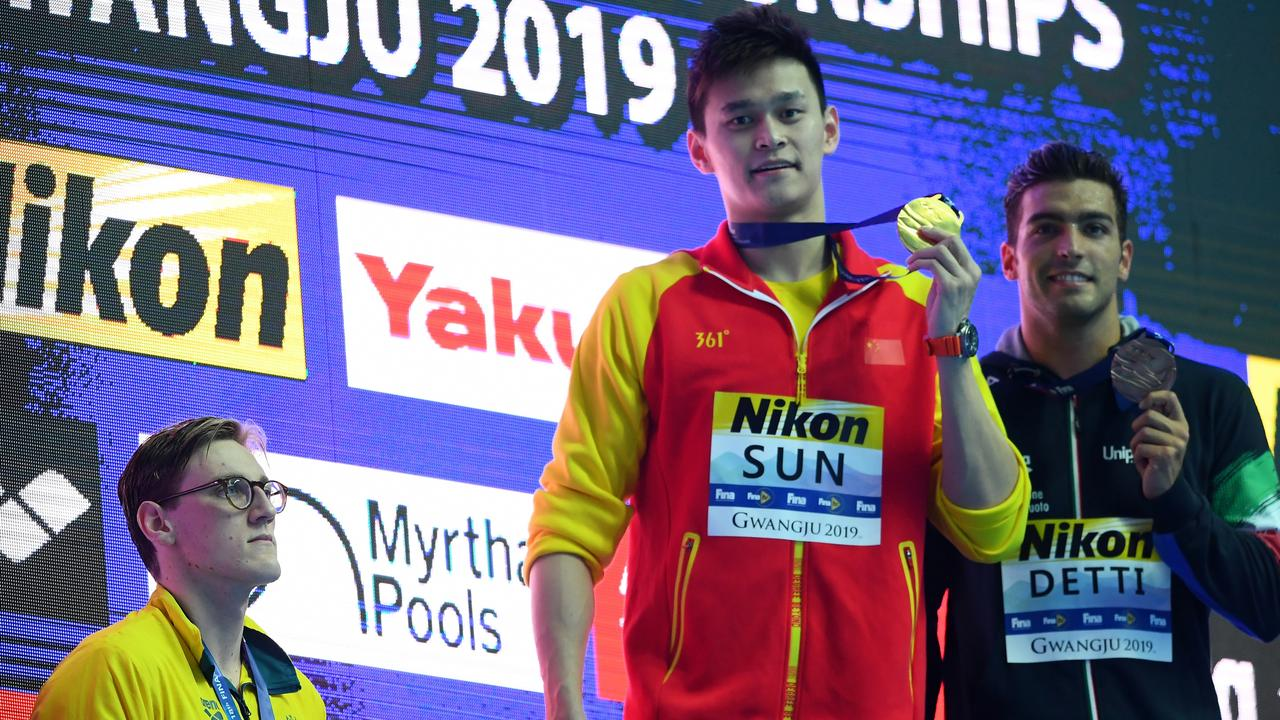 FINA was criticised for its handling of the Sun Yang doping case. Picture: Getty Images
