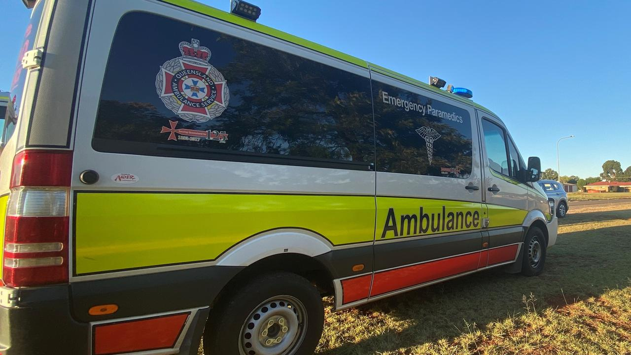 Paramedics have been called to Peachester.