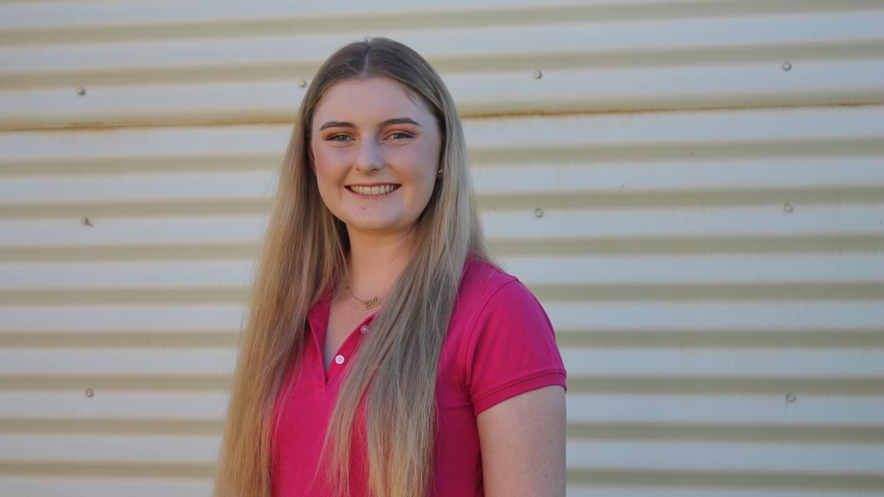 HELPING HAND: Sarah-Jane Coggan has received $5,000 scholarship from Rural Bank.