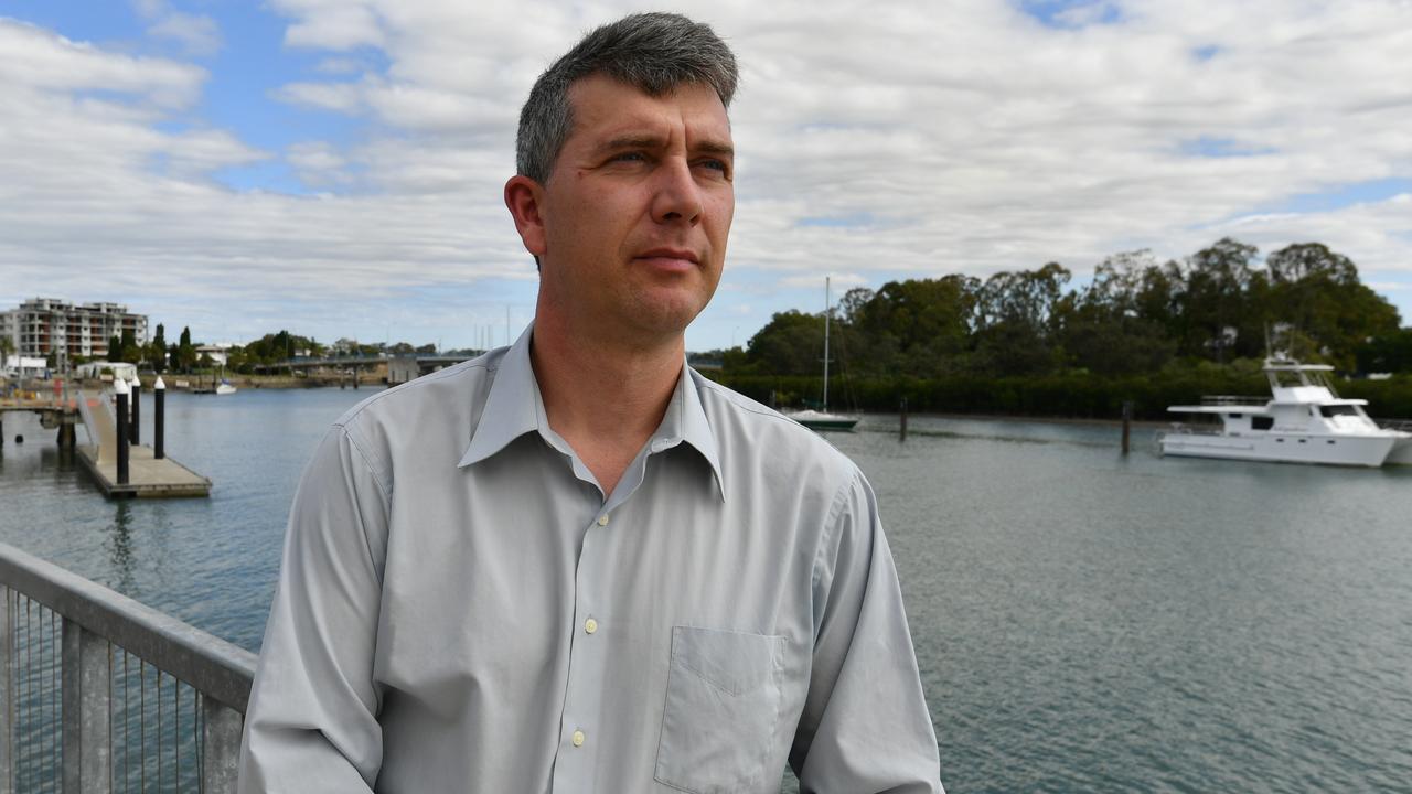 Former Gladstone Associate Vice-Chancellor professor Owen Nevin