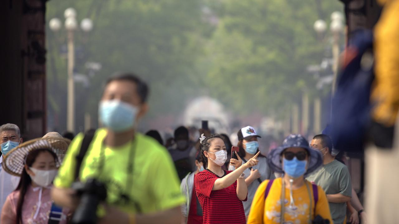 Dr Zhang Jixian has been hailed as the first medical professional to report the virus outbreak. Picture: AP Photo.