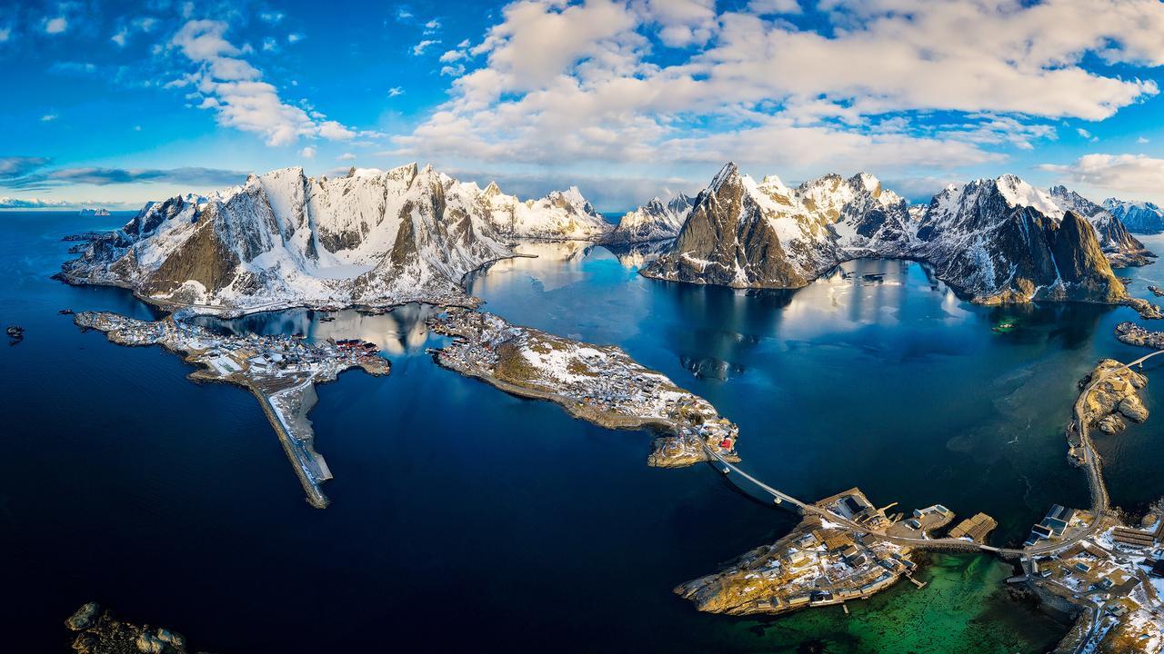 Lofoten, Norway.Picture:Dieter Meyrl /The EPSON International Pano Awards 2019