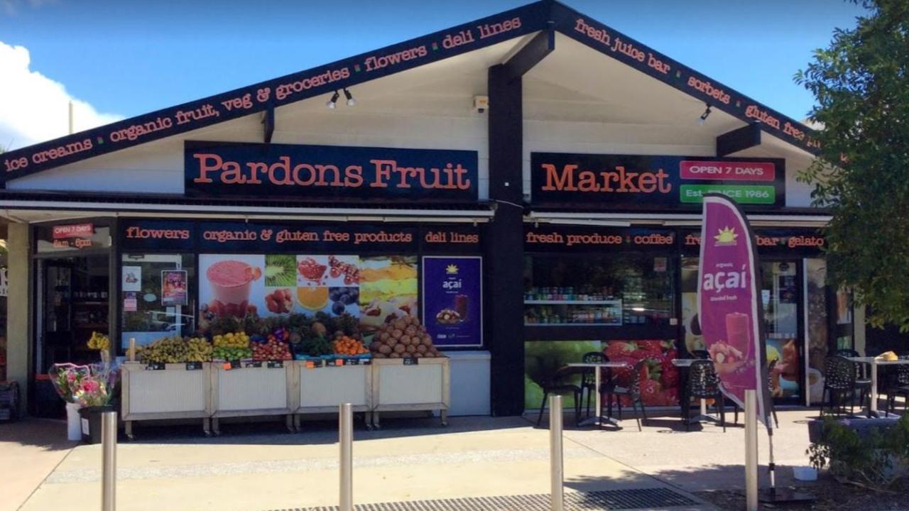 Pardons Fruit Market.