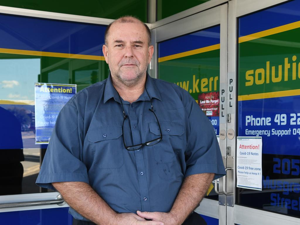 Bruce Kerr issues a warning about the internet scams to look out for