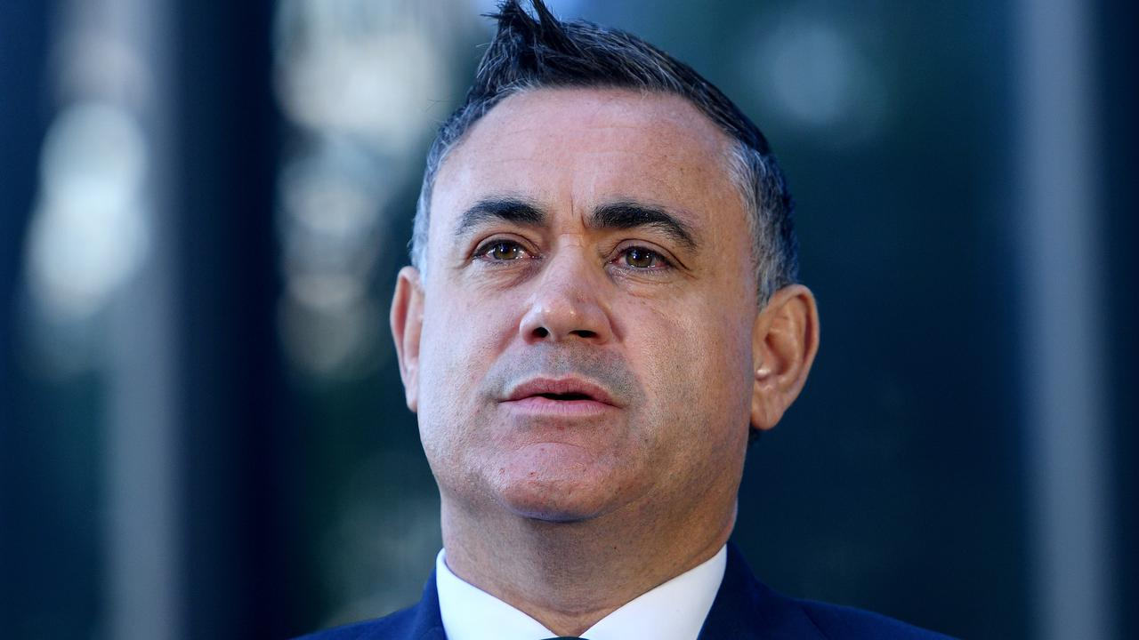 NSW Deputy Premier John Barilaro will not run for the federal seat of Eden Monaro. Picture: AAP/Dan Himbrechts