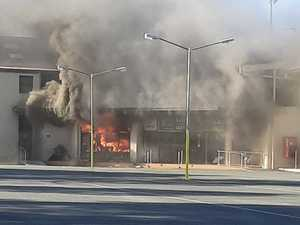 Major blaze breaks out at footy club