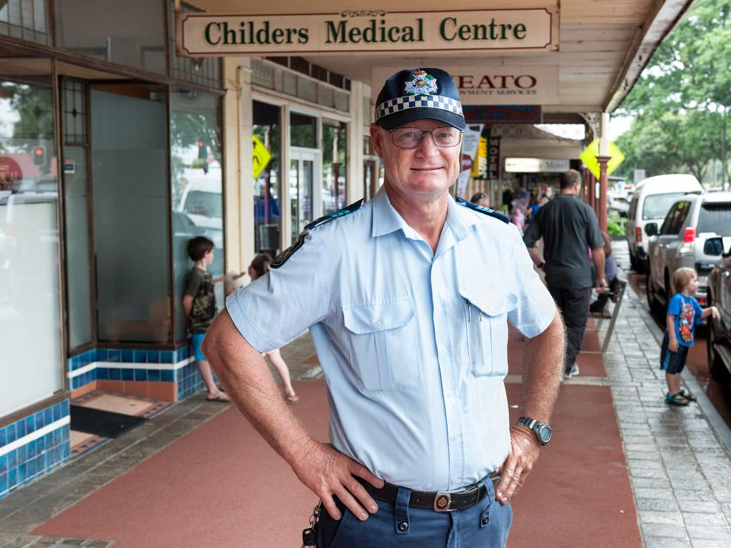 Officer-in-charge of Childers police station Sergeant Geoff Fay