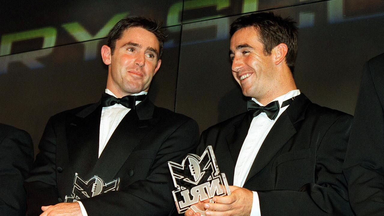 Brad Fittler and Andrew Johns only spoke during chance encounters and Origin camps during the season.