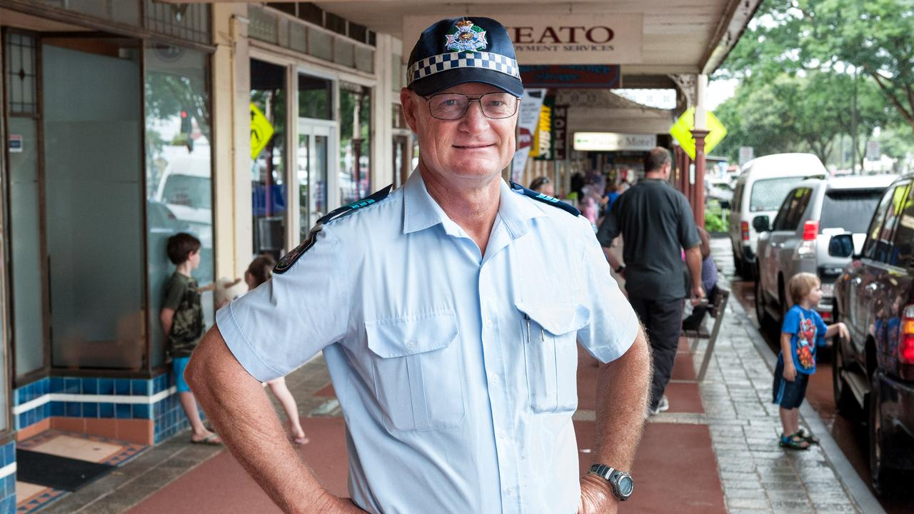 Officer-in-charge of Childers Police Station Sergeant Geoff Fay. Picture: Paul Beutel