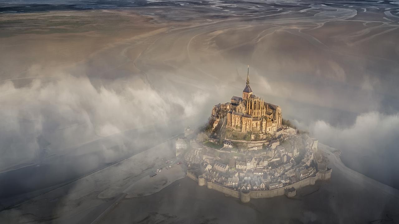 Mont Saint Michel, Normandy, France. Picture:Deryk Baumgaertner /The EPSON International Pano Awards 2019