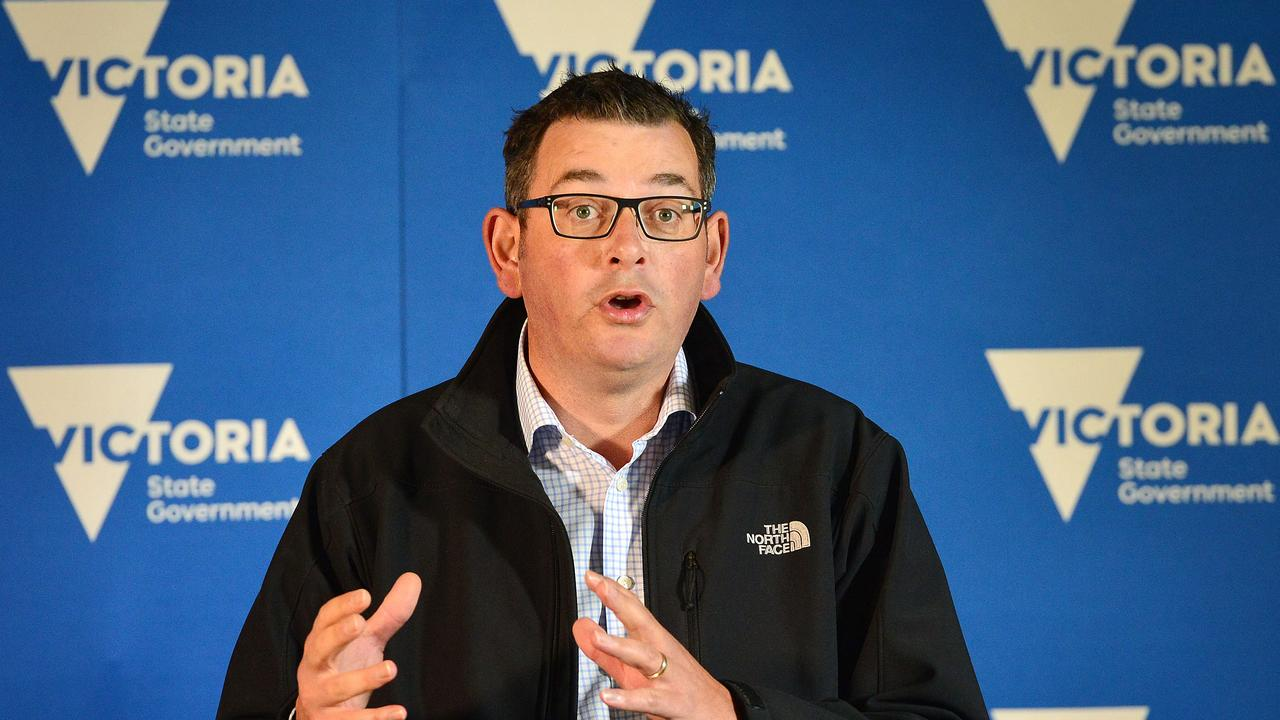 Who knows when Premier Daniel Andrews will let us out again. Picture: Nicki Connolly