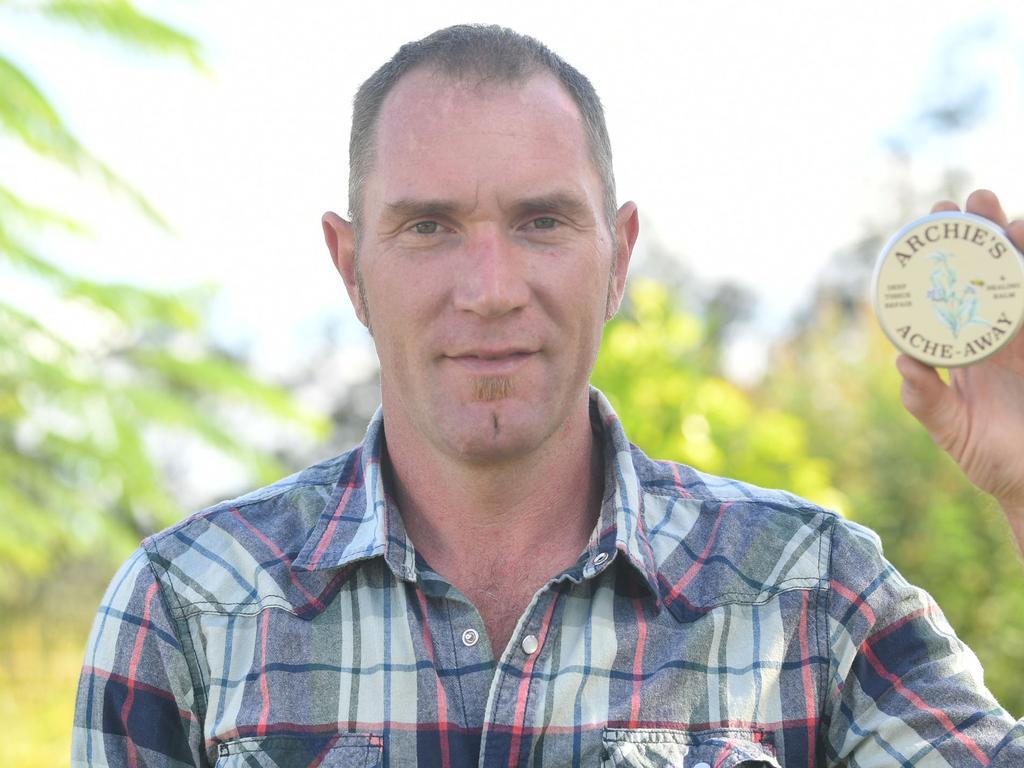 Ben Blackburn, creator of Archie's Ache-Away