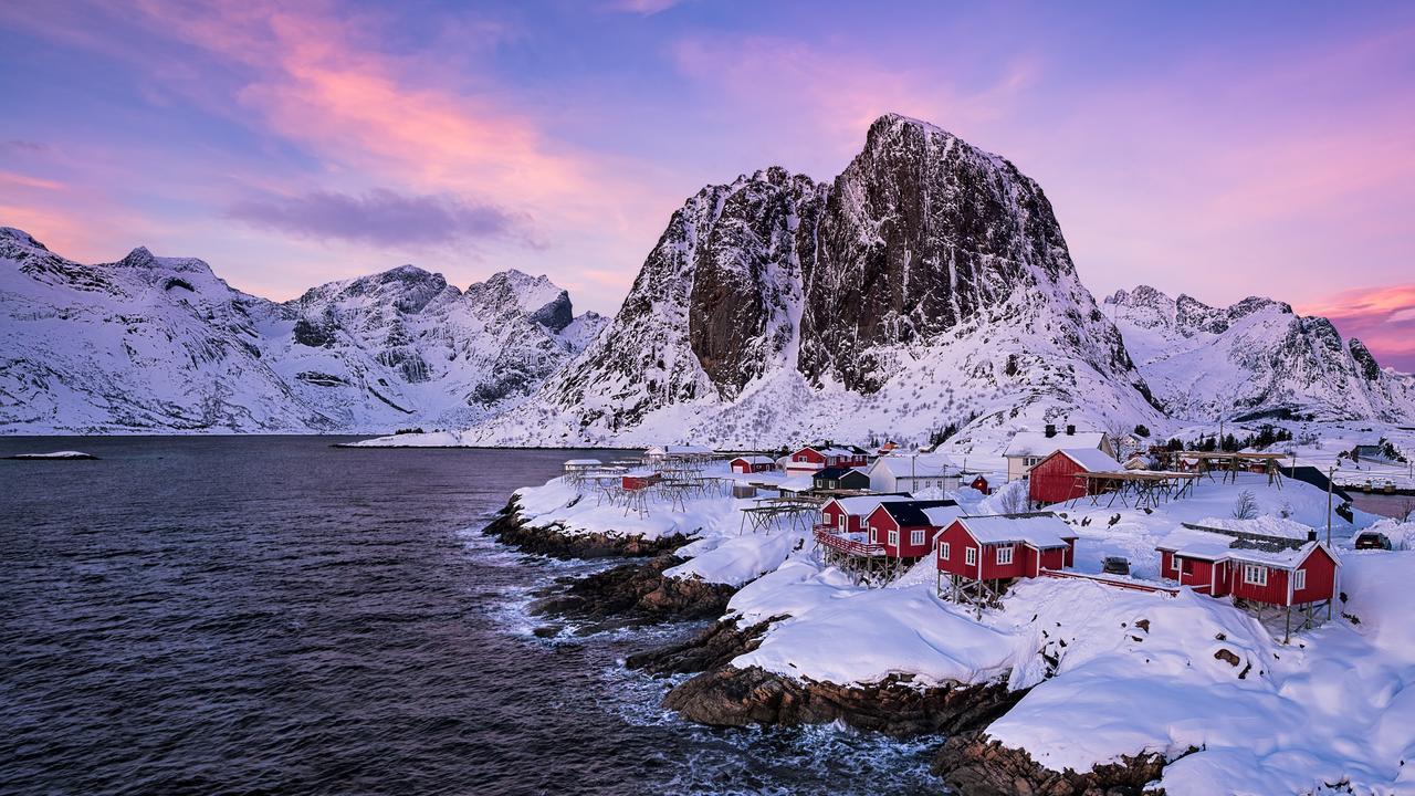 Winters Delight, Lofoten Islands, Norway.Picture:Rowena English /The EPSON International Pano Awards 2019