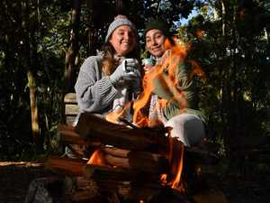 COLD SNAP: Noosa shivers as temps drop to single digits