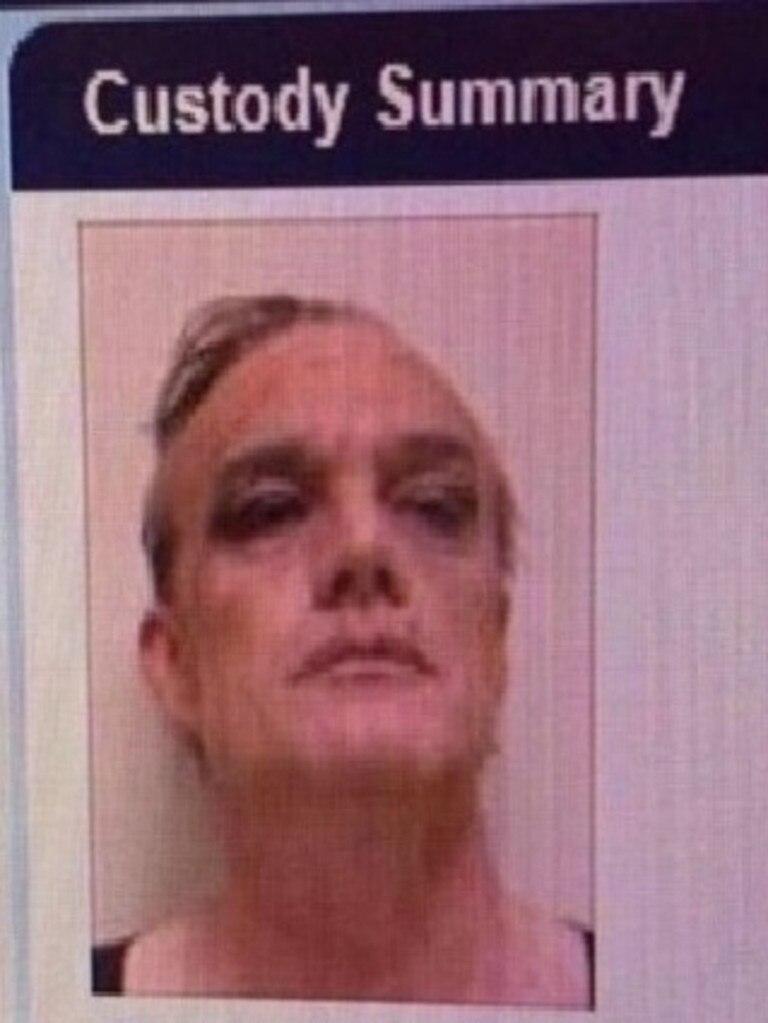 Police mug shot of Dean Laidley