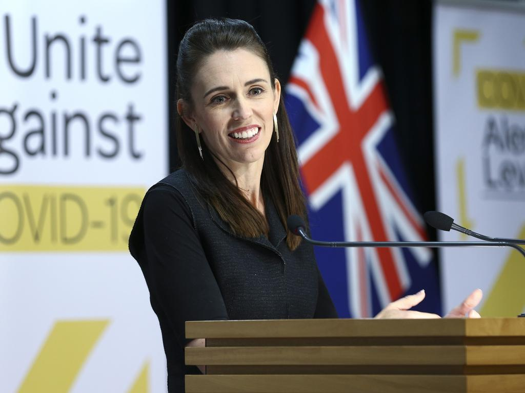 "The creation of a trans-Tasman ""bubble"" allowing travel between Australia and New Zealand will be discussed when Jacinda Ardern joins a national coronavirus meeting. Picture: Getty"