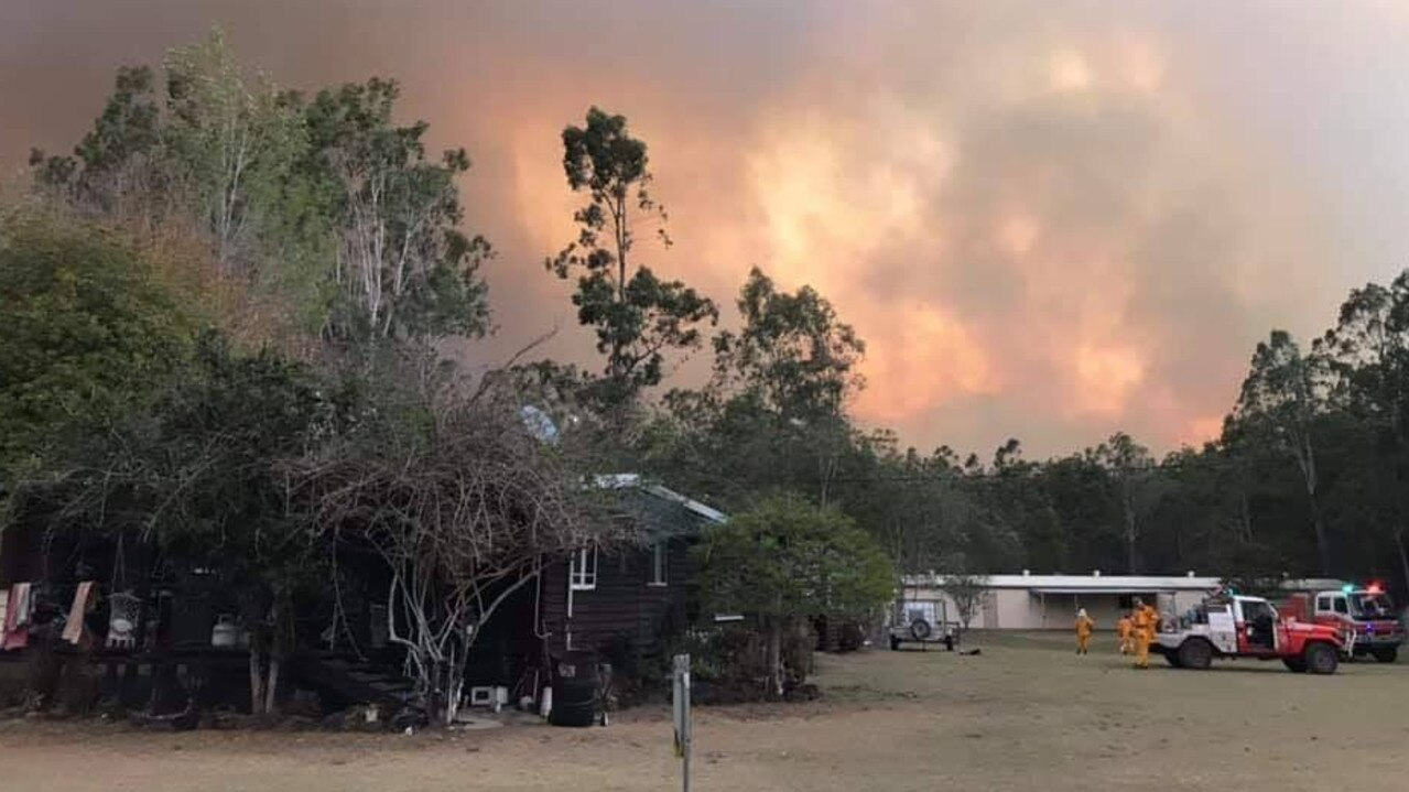 Crews from the Kyogle RFS helped out at the Rappville bushfire.