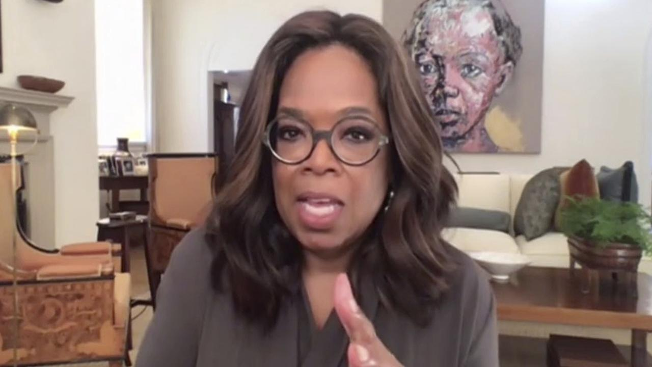 Oprah Winfrey has donated $16 million to coronavirus relief. Picture: The Call to Unite via AP
