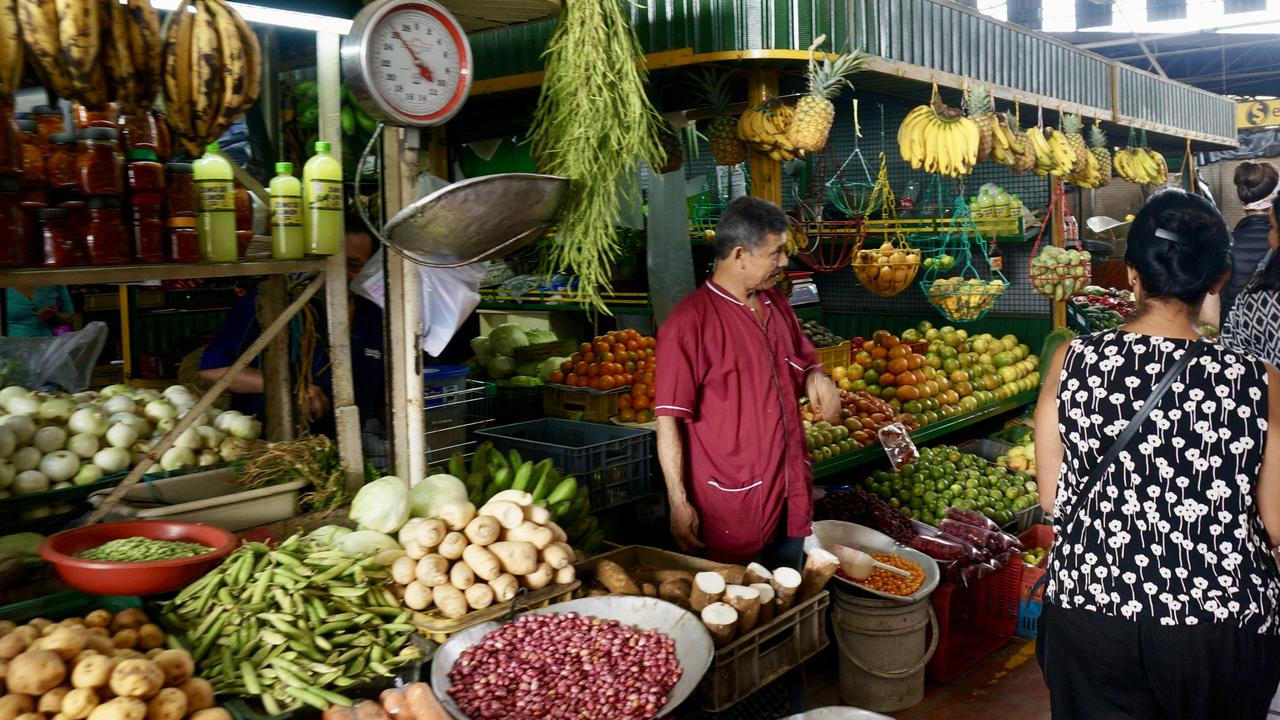 Visit the Plaza Minorista Market in Medellin, Colombia to try some exotic fruits.