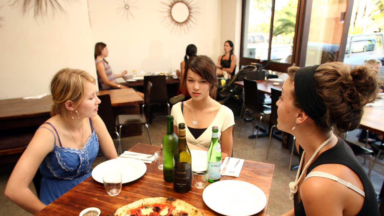 Eat Street, Mullumbimby : Milk and Honey pizza cafe