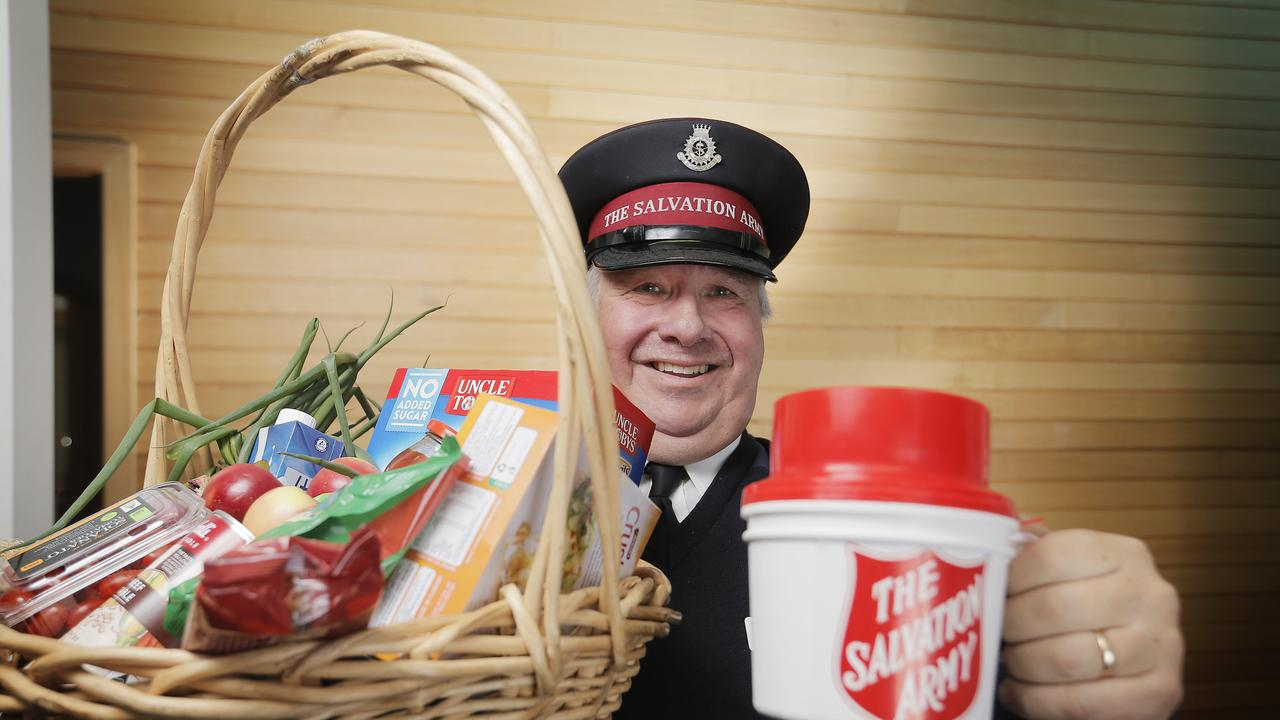 The Salvation Army is taking its annual Red Shield Appeal digital. Picture: MATHEW FARRELL