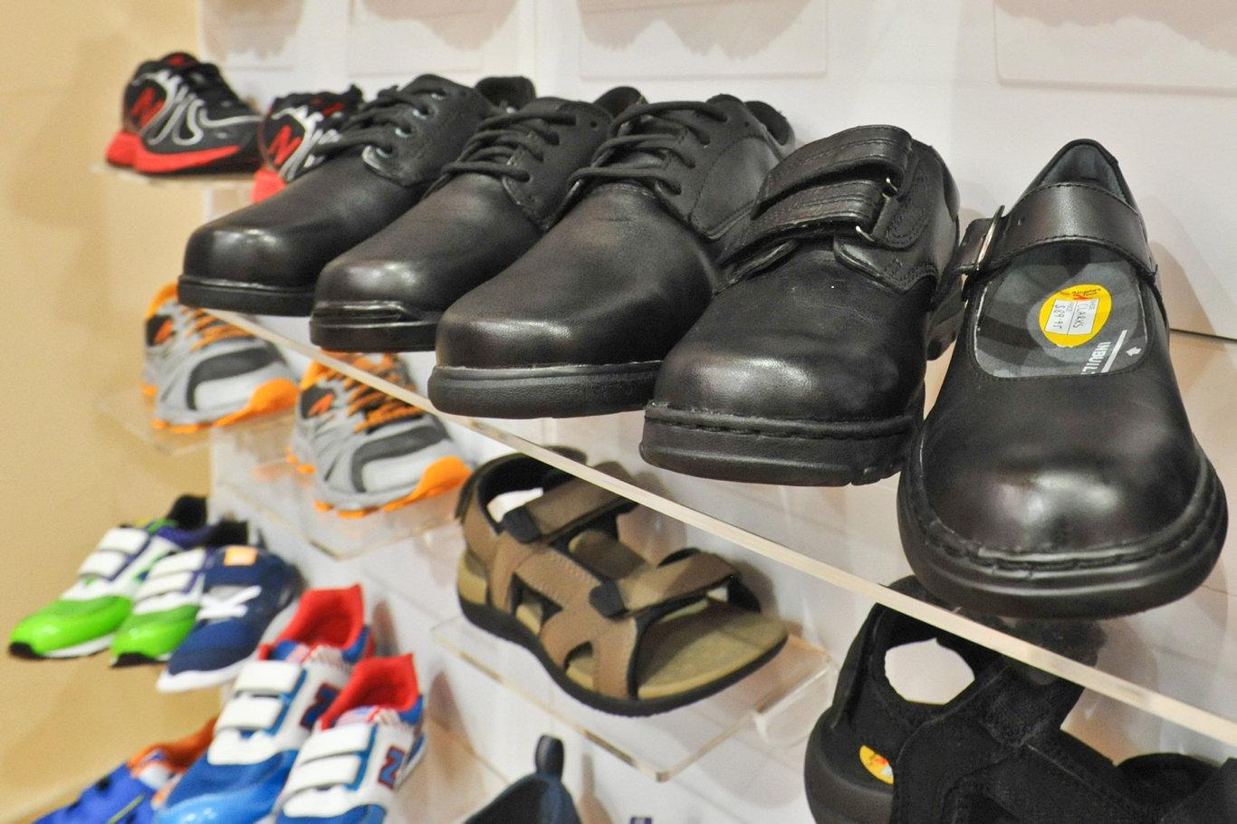 Athletes foot, School Shoes. Photo: Rob Wright / The Coffs Coast Advocate