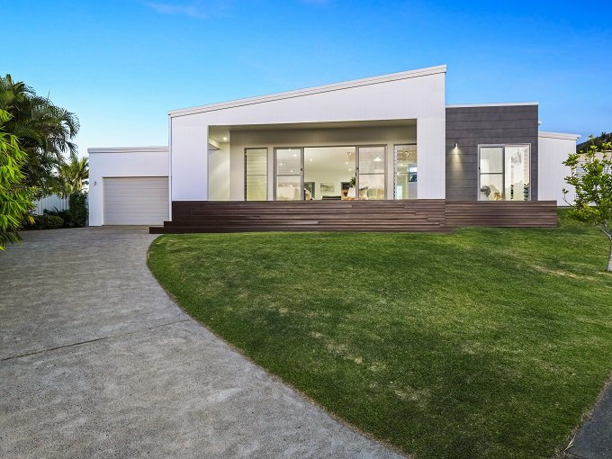 5 Outrigger Place, Safety Beach opened on Saturday between 12.30-1.00pm with Nolan Partners.