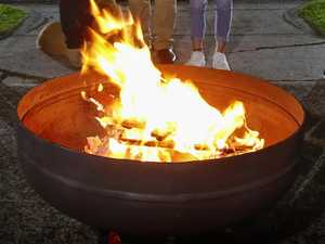 Fire pit complaint: 'People can be complete walnuts'