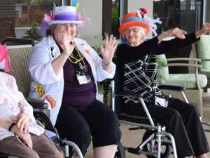 Twice the fun: Mackay women celebrate turning 103