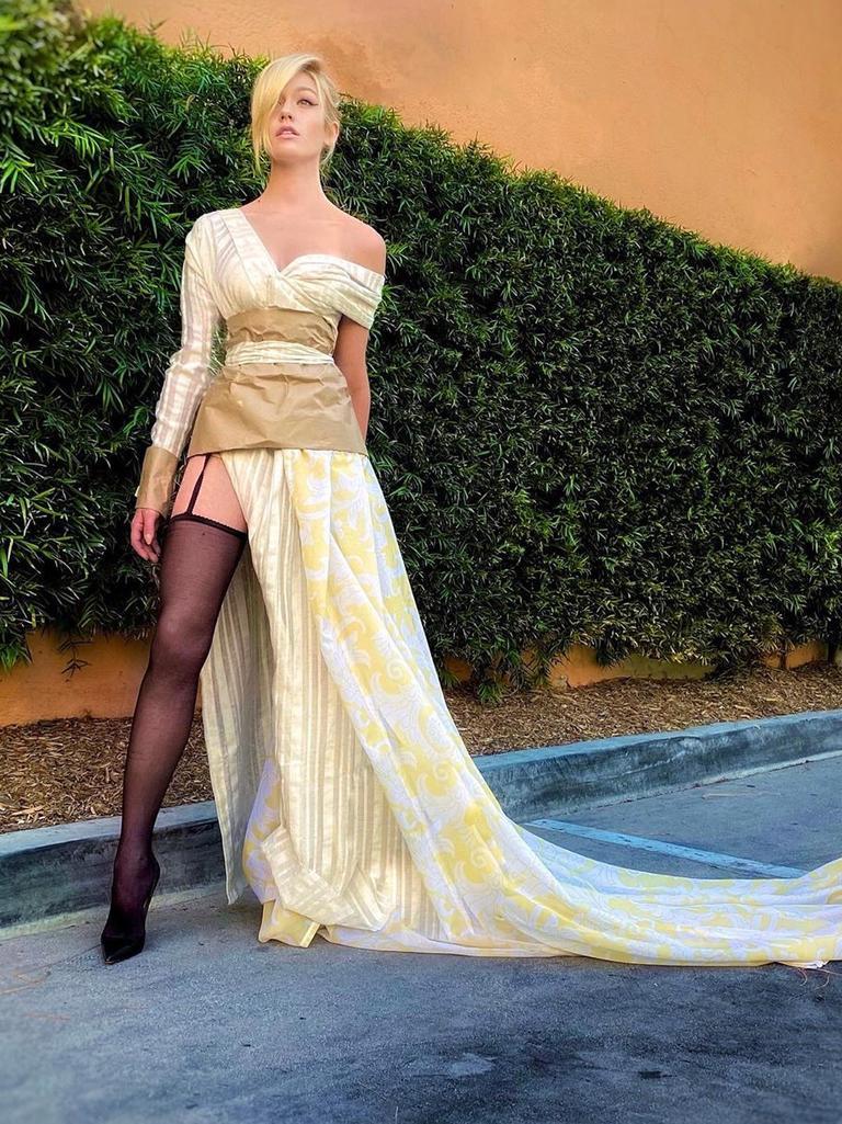 @kat.mcnamara as Gigi Hadid. Picture: Instagram