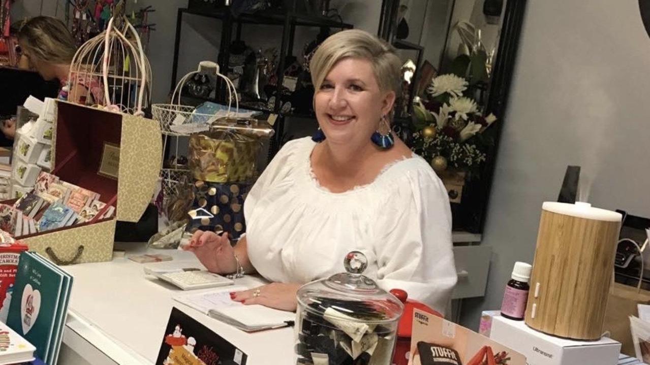 Owner of Springsure's Decadence Gifts & Homewares, Louisa Oppermann.