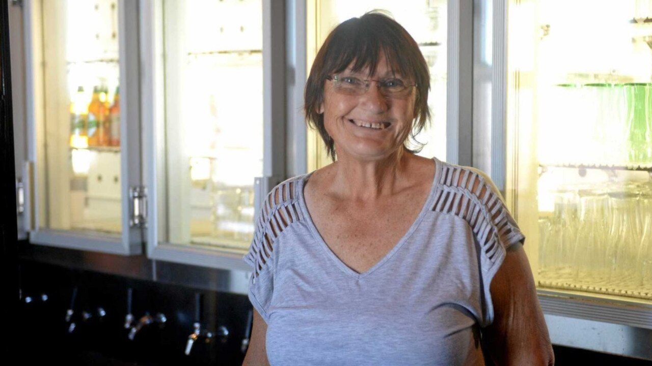 SAD CLOSURE: The Ranch Bar and Grill's Lenore Herde has closed the doors for the last time on her beloved business.
