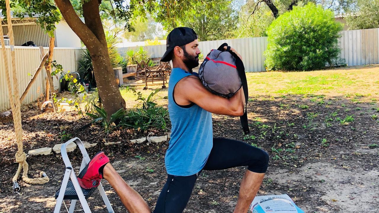 Giri Kumar's home workout