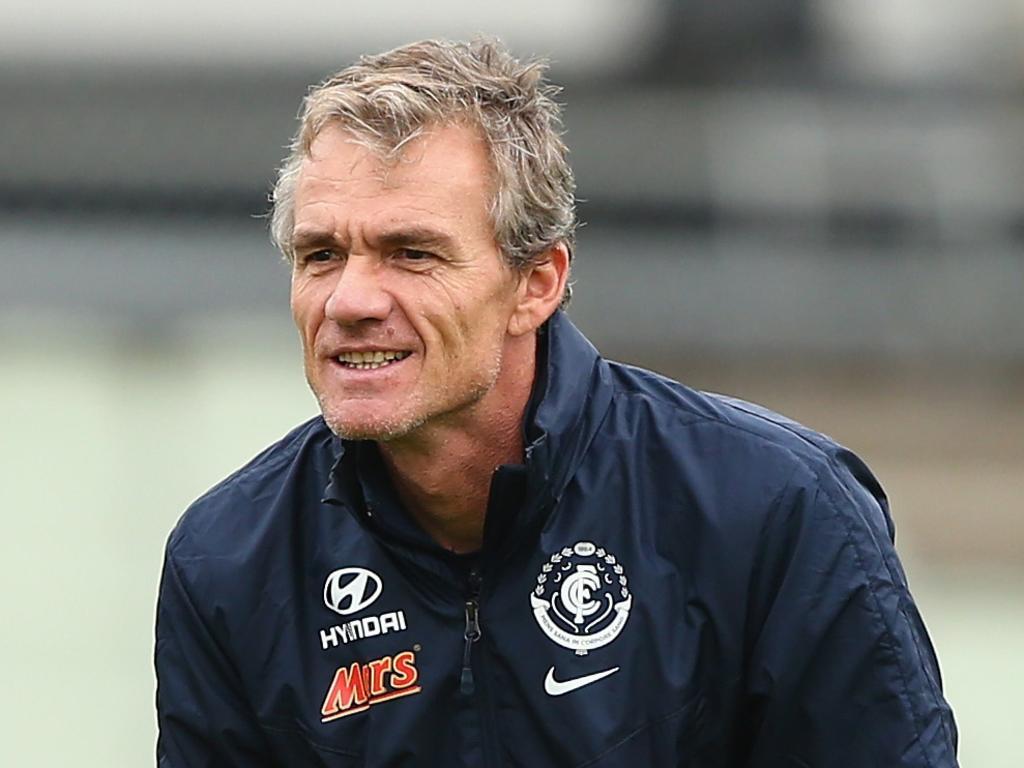 Dean Laidley was an assistant coach for Carlton Football Club.