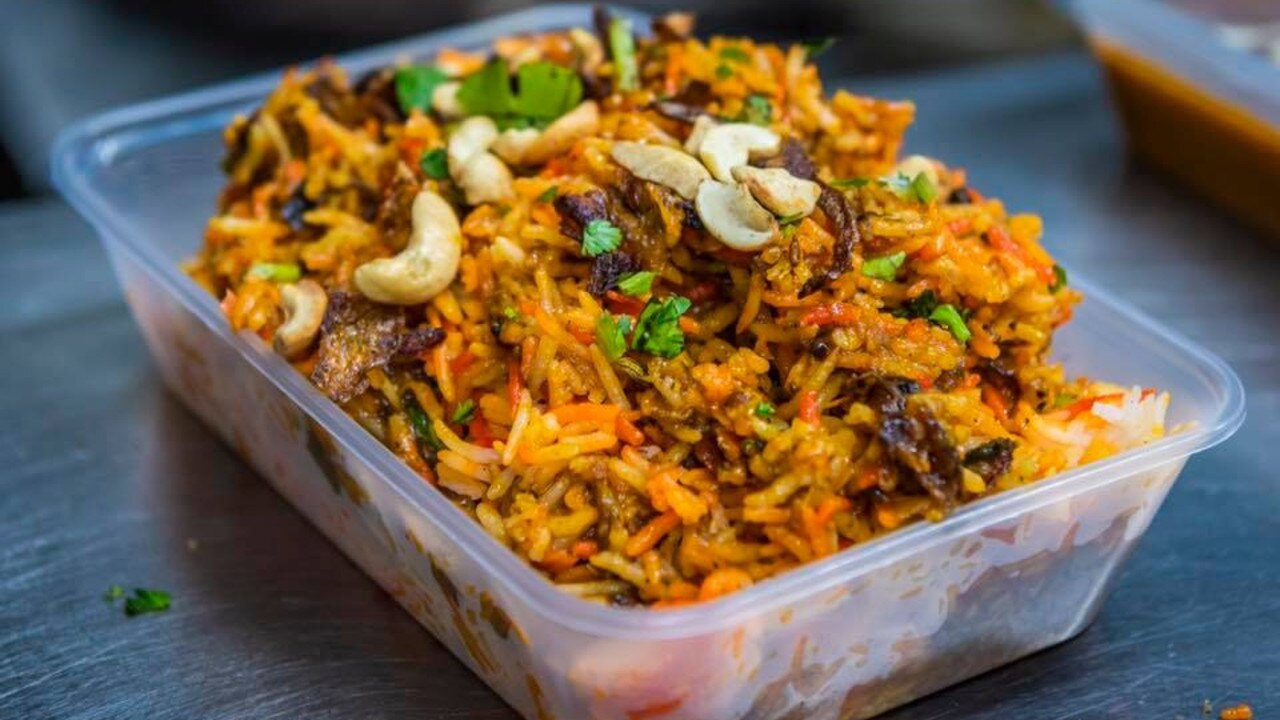 TEMPTING TAKEAWAY: TruFusion Indian Bar and Grill's delicious Biryani is a feast for the eyes as well as the stomach.