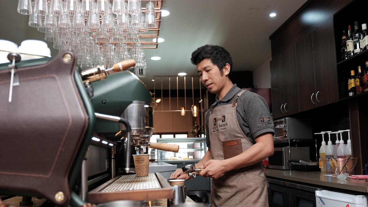 Tenzin Norbu and his wife Sara have opened Copper Bench, a new cafe on Ruthven St, Toowoomba.