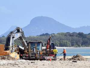 Sand takes heavy toll as crews get a sinking feeling