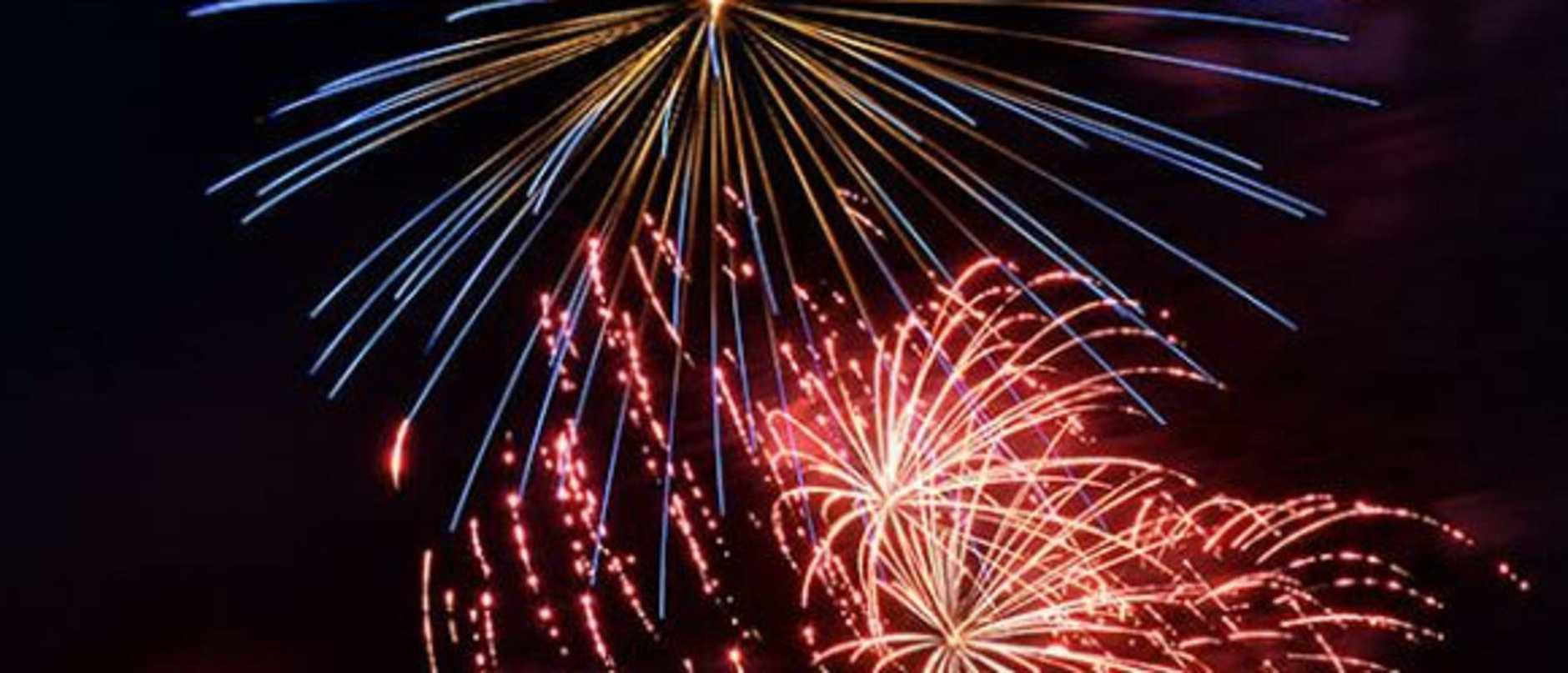 An impromptu fireworks display is under investigation.