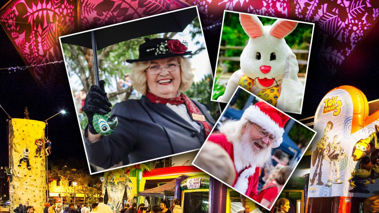 Could Mary Poppins meet Easter Bunny and Santa in the Maryborough CBD when coronavirus restrictions are lifted? Organisers are asking for ideas.