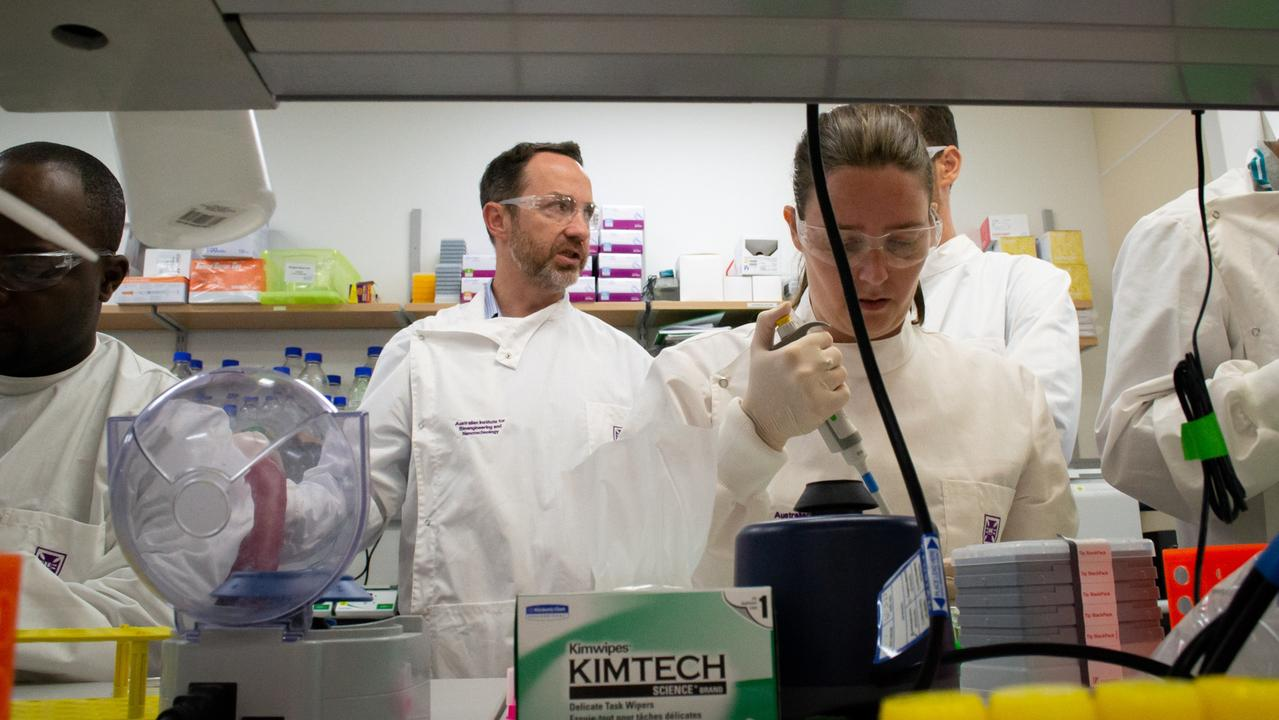 Professor Frazer said the development is 'probably the most important first step towards getting a vaccine to humans'. Picture: The University of Queensland