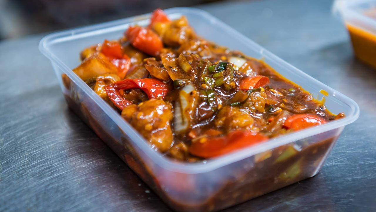 TAKEAWAY TEMPTATION: TruFusion Indian Bar and Grill's chilli chicken absolutely bursts with flavour.