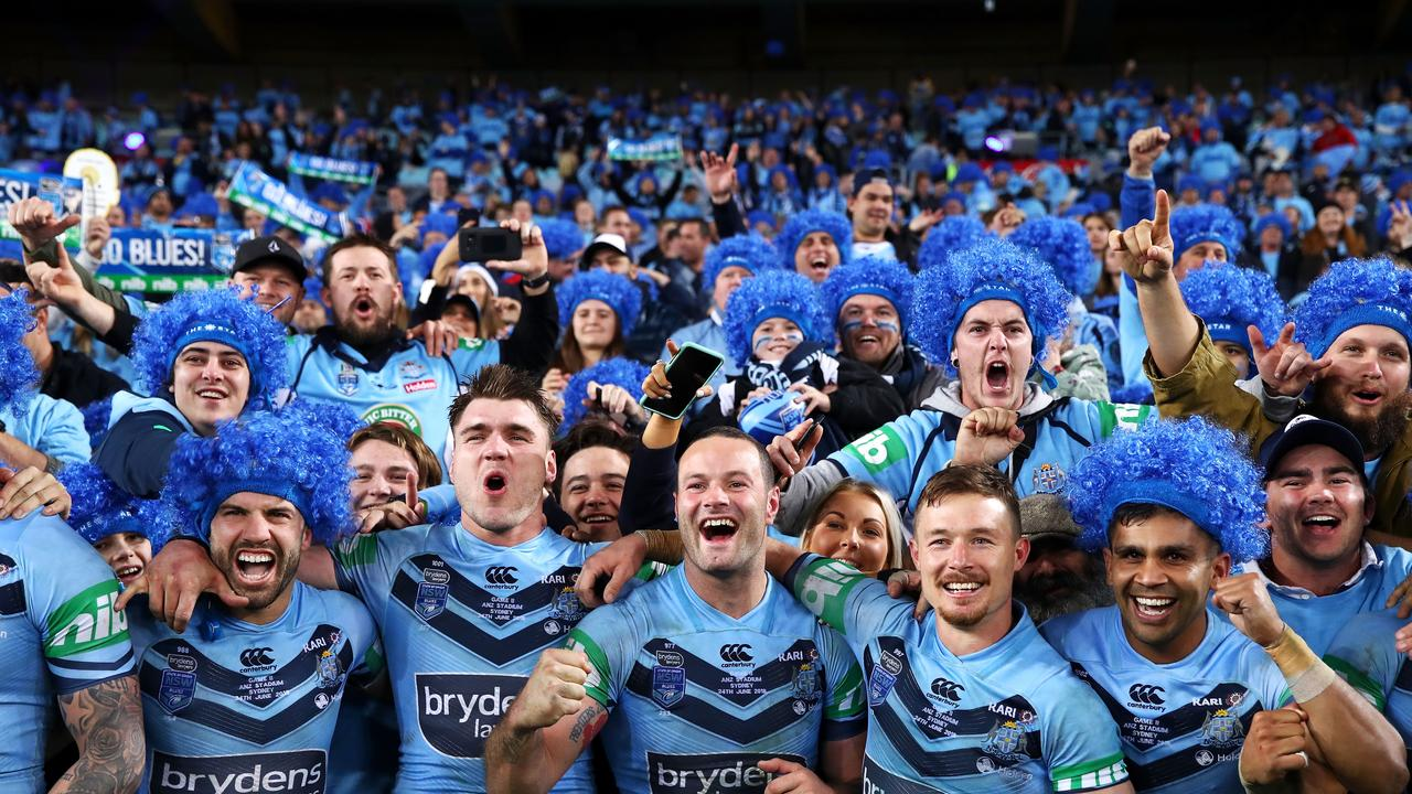 New South Wales is supposed to host two Origin matches this season. Photo by Mark Kolbe/Getty Images.