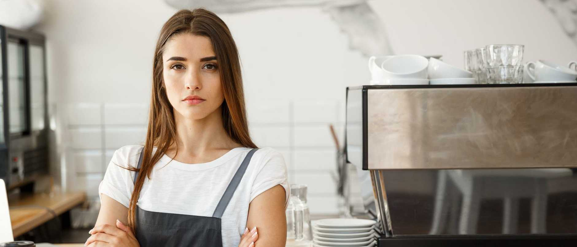 A staggering number of jobs have been lost in the food and accommodation industry.