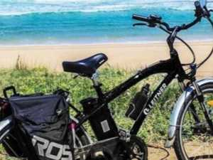 Thief switches gears by stealing electric bike