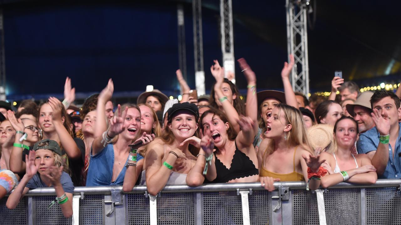 Bluesfest crowds 2018.