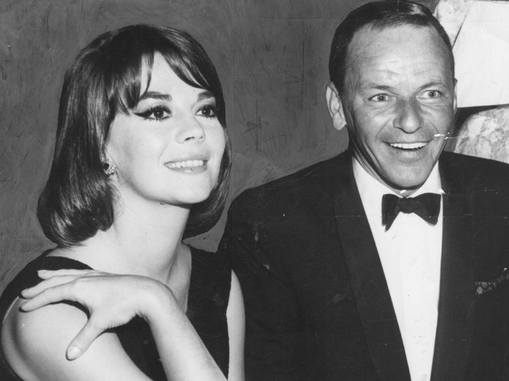 Wood with Frank Sinatra.