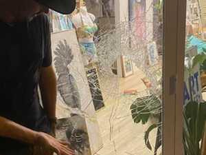 Yeppoon artist 'humbled' by brazen burglary on main street