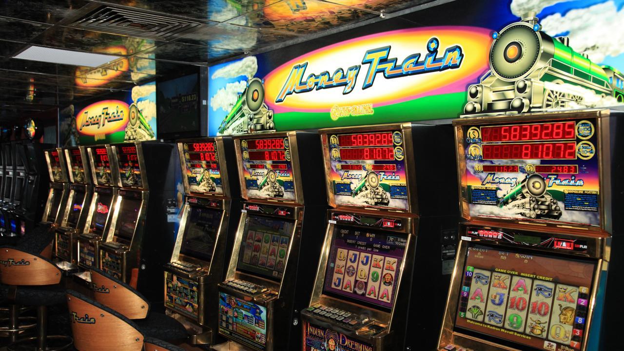BCM NEWS 26/6/2012. Generic gaming machine or poker machine images. Photographer: Liam Kidston.